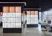 Synsam öppnar Europas största glasögonaffär – ritad av Studio Stockholm