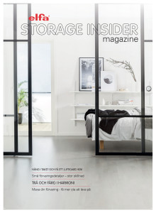 Elfa The Storage Insider magazine_okt 2017