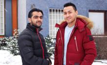Stödboendet för ensamkommande i Hässelby - Här arbetar Hassan och Ayoub