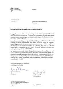 SKL:s skrivelse till Högsta förvaltningsdomstolen