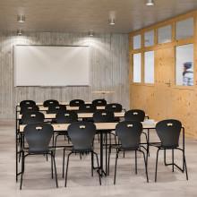 Lekolar lanserar elevstol av 100 % återvunnen returplast