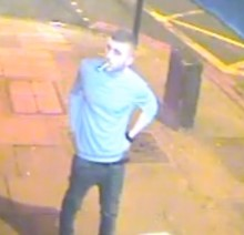 CCTV released following rape in Camden