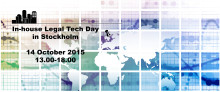 Welcome to the In-house Legal Tech Day - October 14