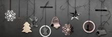 Rosenthal - Silver Collection Weihnachtsanhänger