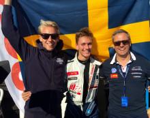 Makalös uppkörning av Simon Larsson i säsongsavslutningen på Volkswagen Golf CUP