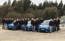 A Ford Focus RS győzelme a nagy presztízsű Járműdinamikai Versenyen; Európában látványos starttal indul a Focus RS értékesítése