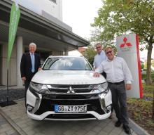 """Mitsubishi beteiligt sich in Hessen bei """"eKommunal"""""""