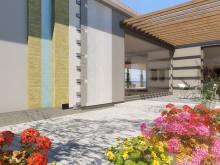 Fleksibelt og solid fasadesystem
