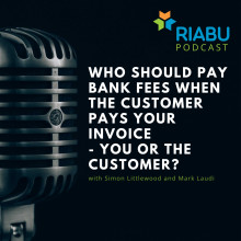 Who should pay bank fees when the customer pays your invoice - you or the customer?