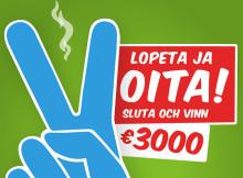 Perheen tuki siivitti Lopeta ja voita 2014 -kisan voittoon