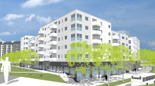 Nytt bostadskvarter byggs i Rosengård