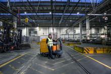 Coor er Nordens første med selvkørende rengøringsrobot