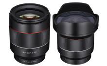 Samyang panustab Sony E-mount täiskaadrile – esmakordselt autofookusega objektiivid