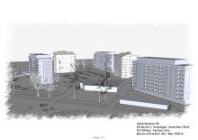 Klartecken att påbörja nybyggnationsprocess