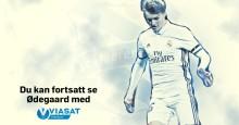 Se Martin Ødegaards første kamp for Heerenveen på Viasat Sport og Viaplay lørdag 14. januar