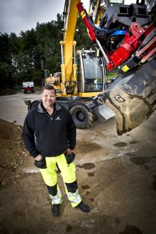 Uppgraderingserbjudande för dig med tvåfalls grävsystem