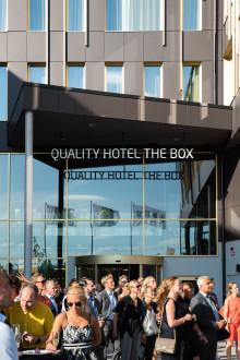 Fest när Stordalen invigde nytt Linköpings-hotell