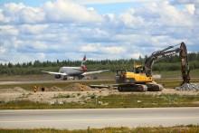 Endring i flymønster i sommer