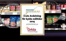 Orkla Foods Sverige introducerar ny kategori i Dagligvarugalan