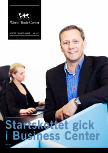 Stefan Larsson, CEO of BIMobject® featured in the World Trade Center magazine