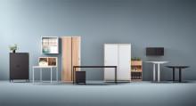 AJ Produkter lanserar Modulus – en modulbaserad och flexibel kontorsserie