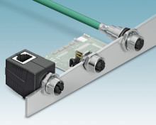 New M12 Device Plug Connectors for 10-Gbps Data Transfer