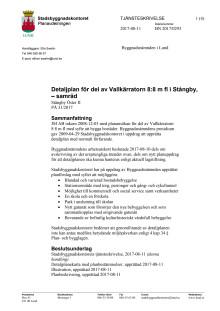Tjänsteskrivelse Stångby öster II
