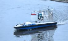除草剤散布用の無人ボート「WATER STRIDER」を発売 軽量で扱いやすく、水稲栽培の効率化を担う