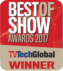 Net Insight Wins IBC 2017 Best of Show Award