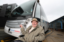 Coach operator honours its oldest passenger