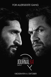 Invitation til gallapremiere på JOURNAL 64 den 3. oktober i Imperial