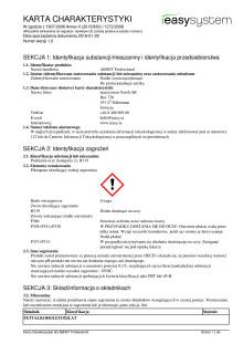 Säkerhetsdatablad | ABNET Professional | polska