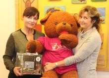 Yoga für Bärenherz: Tatjana Thurow gehört zu den verlässlichen Spendern