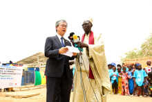 "Yamaha Motor Hands Over 10 Compact Water Purification Systems to Government of Senegal - Changing Lifestyles through ""Safe Water with Confidence"" -"