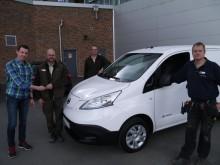 Borås Djurpark köper sin första elbil