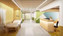 Skanska bygger nya lokaler i Huddinge åt Karolinska Universitetssjukhuset för cirka 1,2 miljarder kronor
