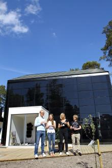 A-hus EU-certifierat för passivhus med solid trästomme