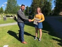 Pristagare på skolavslutningen i Norsjö