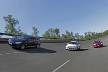 Ford Focus med 1,0-liters EcoBoost-motor sätter sexton hastighetsrekord*