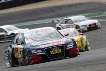 Mattias Ekström snabbast på Nürburgring