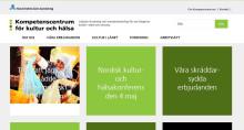 Ny webbplats om kultur och hälsa