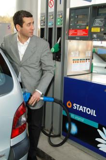 Statoil sänker priset på etanol E85 med 55 öre