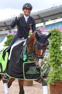 Lövsta Future Challenge presenterar internationella U25-dressyrklasser under Gothenburg Horse Show!