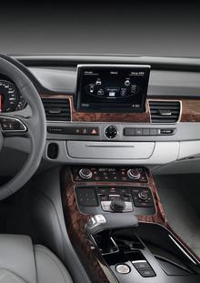 Världspremiär för nästa generation Audi A8
