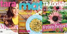 Bonnier Tidskrifter skickar finalister till Sveriges mest intresserade