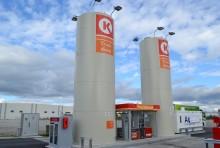 Circle K inviger ny truckstation i Rosersberg