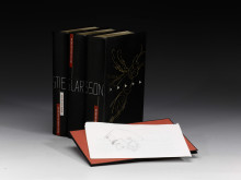 Unique boxed set of Stieg Larssons Millenium trilogy on sale at Sotheby´s to raise money for the Expo foundation