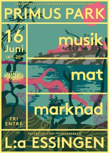 Den 16 juni blir det folkfest i Primus Park – gratis minifestival med scenprogram arrangerat av Popaganda och bl. a Maia Hirasawa på scen
