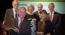 Guldklubban 2013 – Olle Nordström och Monica Lindstedt erhåller utmärkelsen för förtjänstfullt ordförandeskap