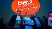 Lärare prisad på World Cookbook Awards i Kina